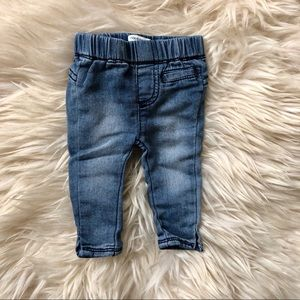 Noppies baby stretch blue skinny jeans